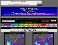 Tropospheric Ducting Forecast
