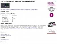 Web-controlled Shortwave Radio