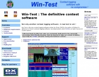 Win-Test contest logging software