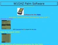 W1GHZ  Palm log