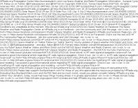 Amateur Radio Propagation RSS (XML) Live Feed