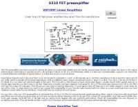 U301 FET preamplifier