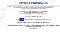 Meteor and Colorgramme