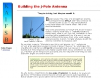 Building the J-Pole Antenna