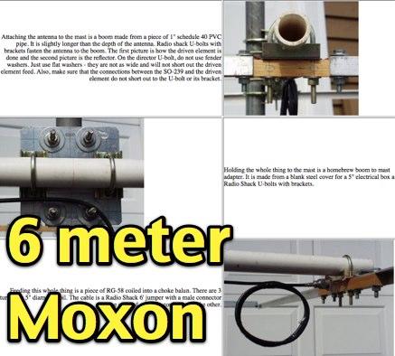 Six Meter Moxon Antenna