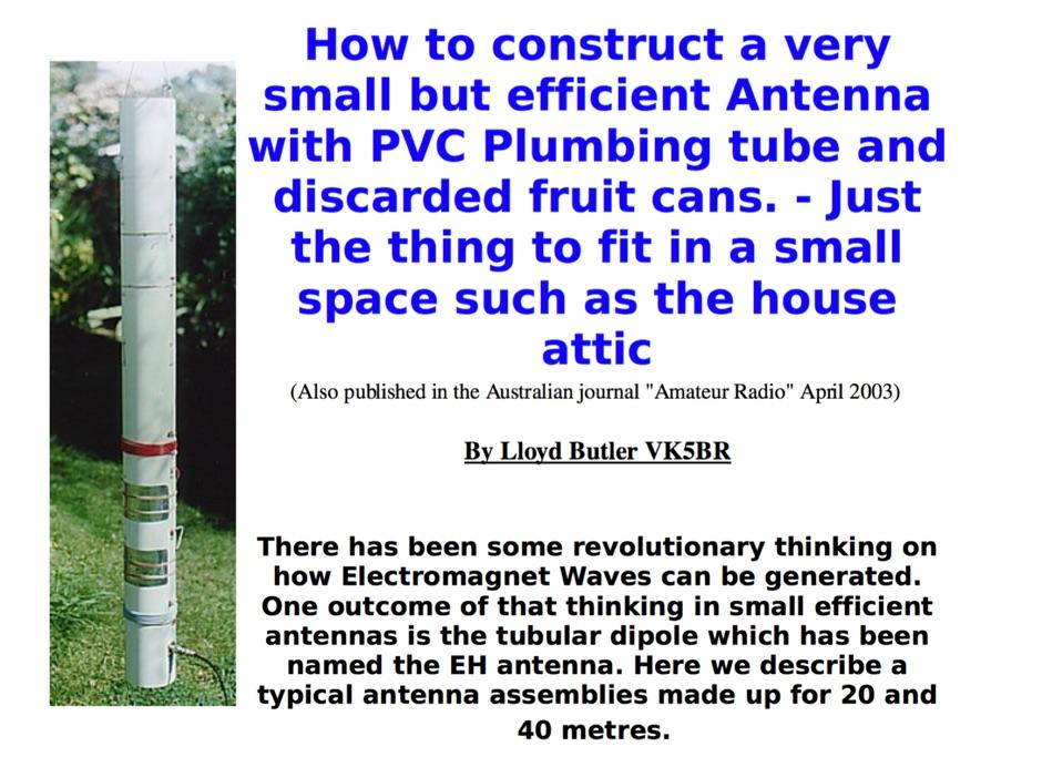 VK5BR 20-40 Metre EH Antennas