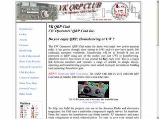 CW Operators' QRP Club Inc.