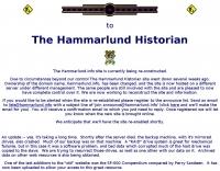 Hammarlund Historian
