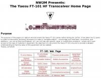 Yaesu FT-101 HF Transceiver Home Page