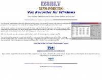Vox Actuated Recorder for Windows