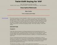 Twist-Shift Keying, Rotation-Shift Keying