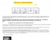W4QCF  manuals
